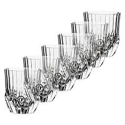Lorren Home Trends Adagio Double Old Fashioned Glasses (Set of 6)