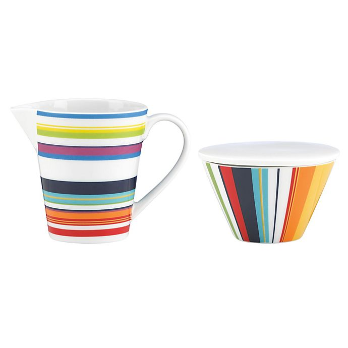 Alternate image 1 for DKNY Lenox® Urban Essentials Sugar and Creamer in White