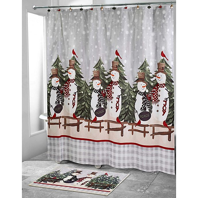 Alternate image 1 for Avanti Country 72-Inch x 72-Inch Friends Shower Curtain