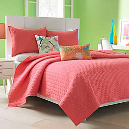 J by J. Queen New York Camden Coverlet in Melon