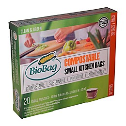 BioBag® 20-Pack 3-Gallon Compostable Kitchen Bags