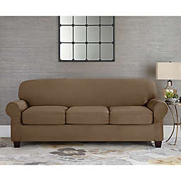 Sofa Cover With Separate Cushion Covers