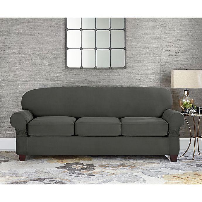 Cushion 3 Seat Sofa Slipcover