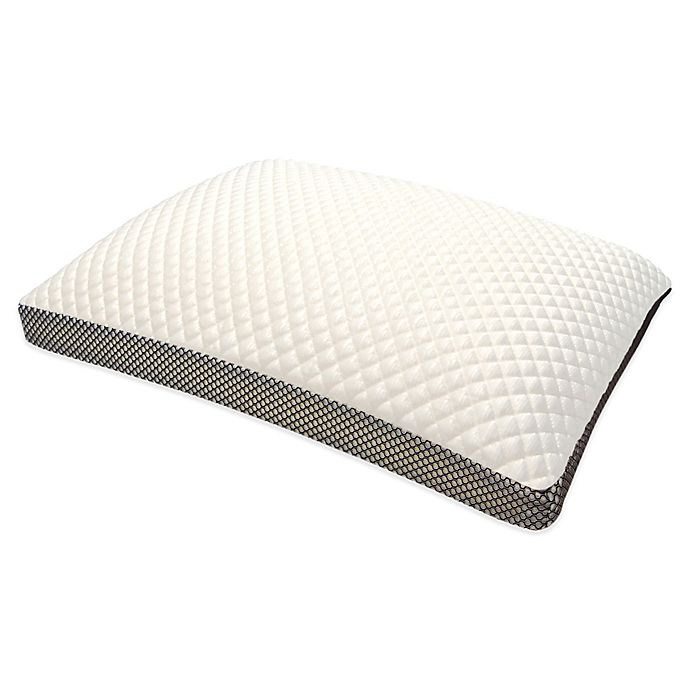 Alternate image 1 for Therapedic® Cooling Memory Foam Side Sleeper Standard Bed Pillow