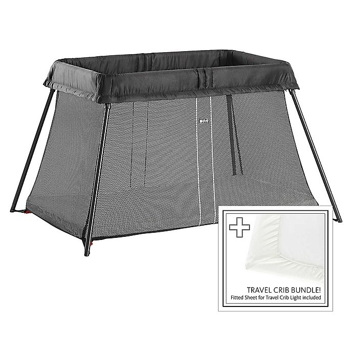 Alternate image 1 for BABYBJÖRN® Travel Crib Light Bundle