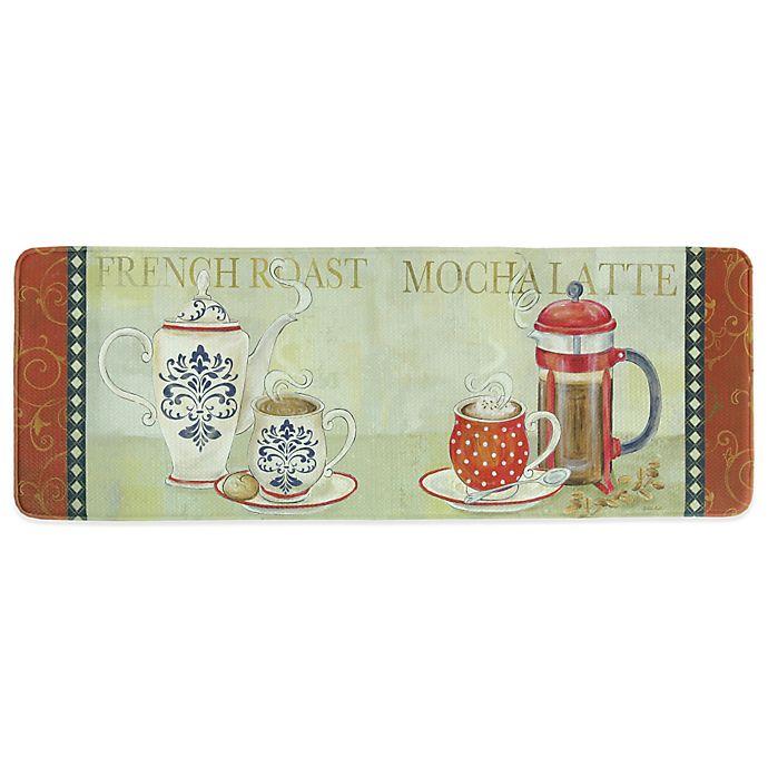 Bacova 20-Inch x 55-Inch French Duo Memory Foam Kitchen Rug ...