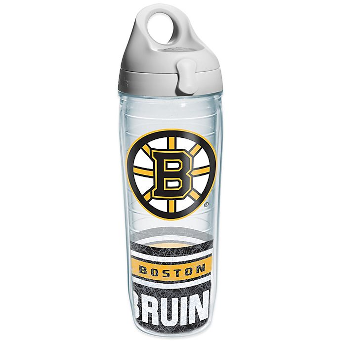 Alternate image 1 for Tervis® NHL Boston Bruins Wrap 24 oz. Water Bottle with Lid