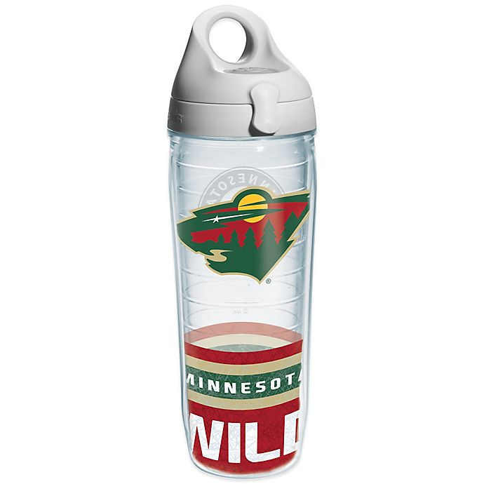 Alternate image 1 for Tervis® NHL Minnesota Wild Wrap 24 oz. Water Bottle with Lid