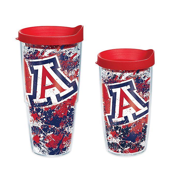Alternate image 1 for Tervis® University of Arizona Splatter Wrap Tumbler with Lid