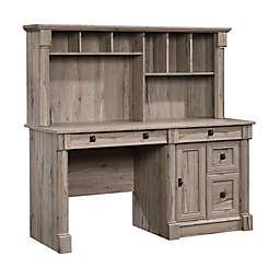 Sauder® Palladia Computer Desk with Hutch in Split Oak