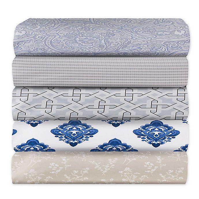 Alternate image 1 for Wamsutta® PimaCott® Printed 625-Thread-Count Pillowcase Set