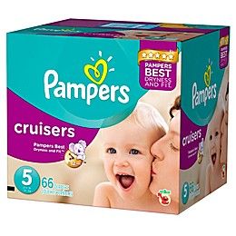 Pampers® Cruisers™ 66 Count Size 5 Jumbo Pack Disposable Diapers