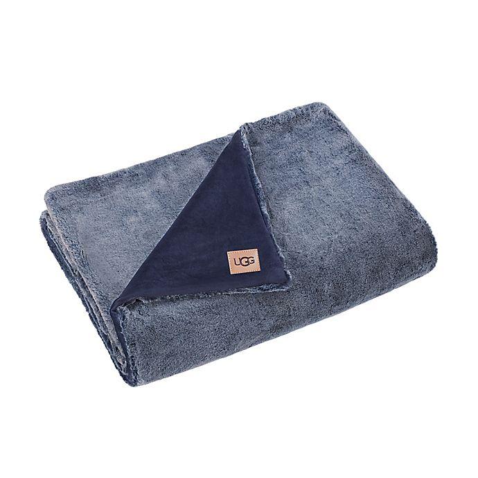 Alternate image 1 for UGG® Dawson Faux Fur Throw Blanket
