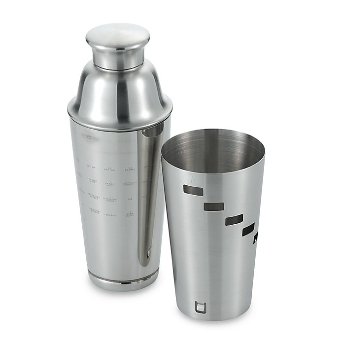 Alternate image 1 for Oggi™ Dial A Drink™ Stainless Steel Cocktail Shaker