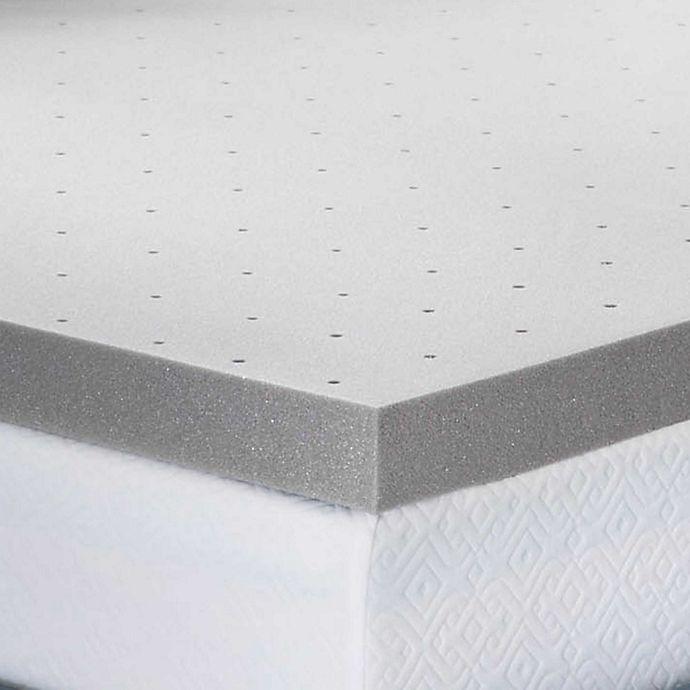 Alternate image 1 for Lucid Memory Foam 3-Inch Twin XL Mattress Topper