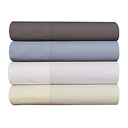 Tribeca Living Marwah 300-Thread-Count Egyptian Cotton Deep-Pocket Twin XL Sheet Set