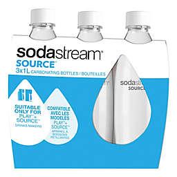 SodaStream® 1-Liter Fuse Carbonating Bottle (Set of 3)