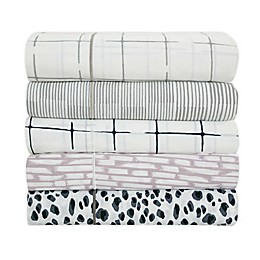 SALT™ Printed 144-Thread-Count Twin/Twin XL Sheet Set