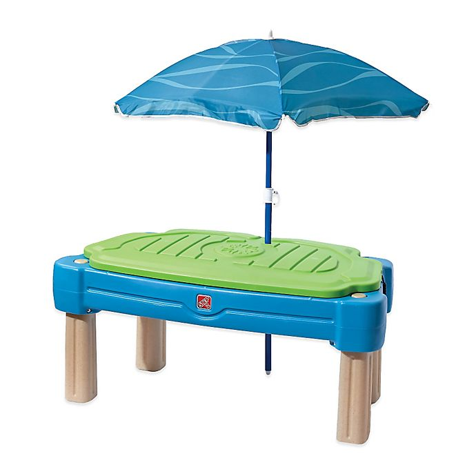 Alternate image 1 for Step2® Cascading Cove Water Table with Umbrella