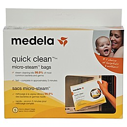 Medela® 5-Pack Quick Clean™ Micro-Steam™ Bags