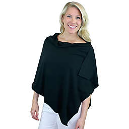 Bamboobies Chic Nursing Shawl in Black