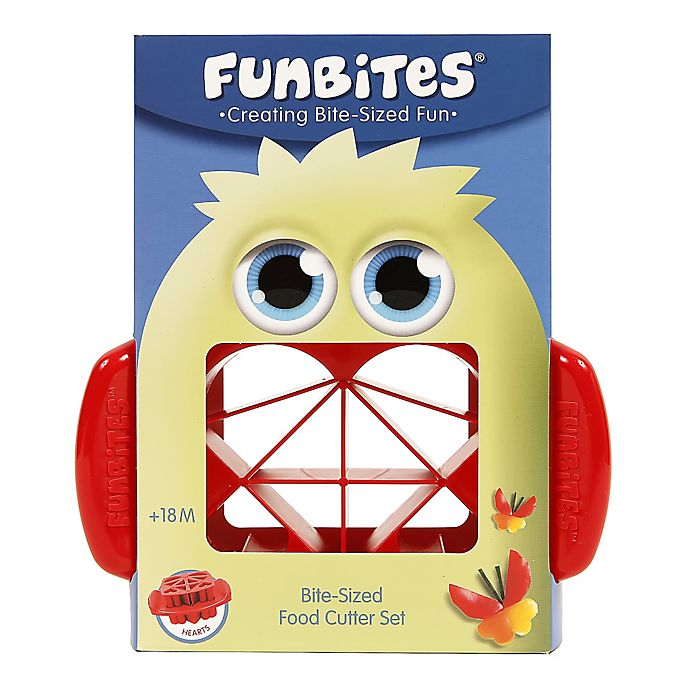 Alternate image 1 for FunBites® Food Cutter in Red Hearts