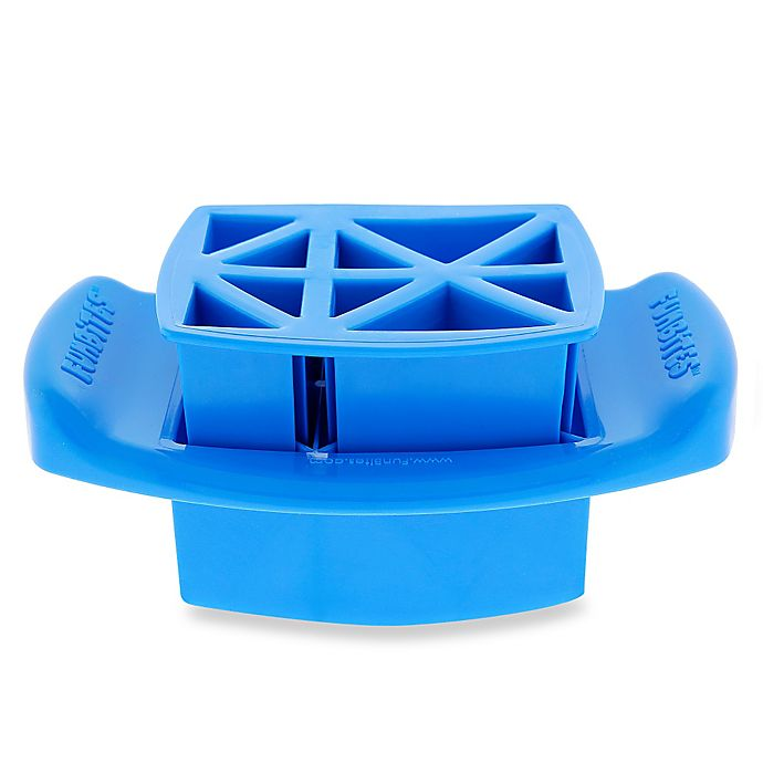Alternate image 1 for FunBites® Food Cutter in Blue Triangles