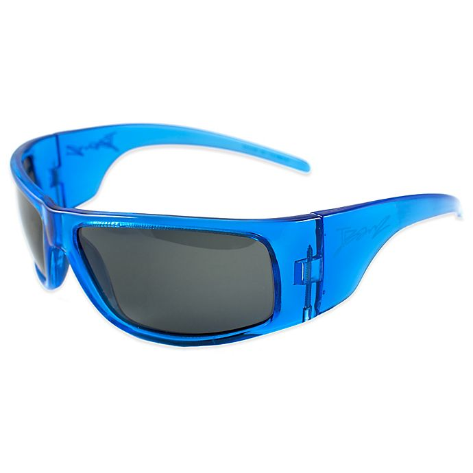 67b9253122 Baby Banz Junior Banz Polarized Sunglasses in Pacific Blue