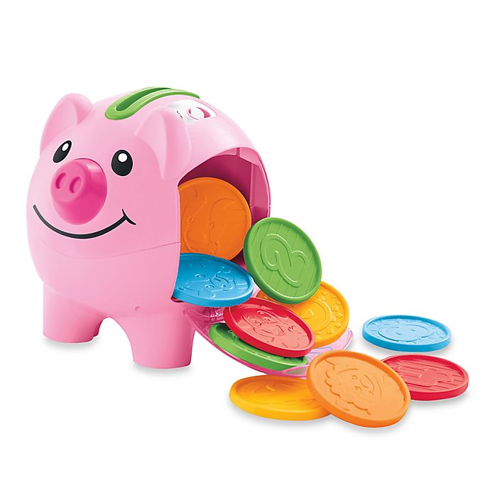 Alternate image 1 for Fisher-Price® Laugh & Learn™ Learning Piggy Bank