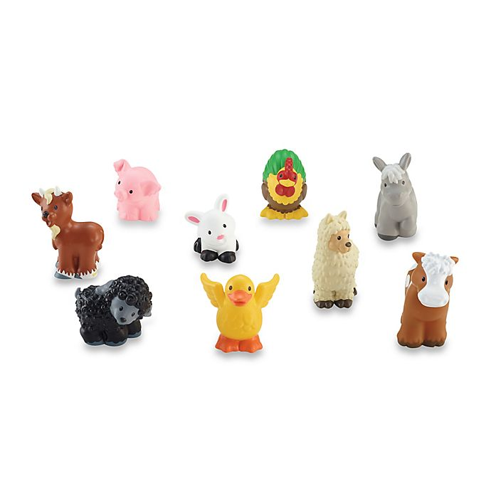 Alternate image 1 for Fisher-Price® Little People® Farm Animal Friends