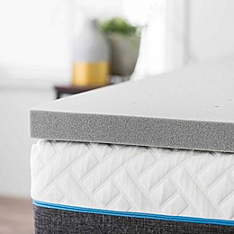 Dream Collection™ by LUCID® 2-Inch Bamboo Charcoal Twin XL Foam Mattress Topper