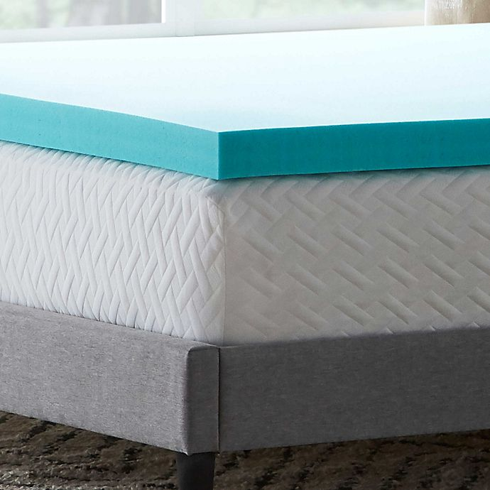 Alternate image 1 for Dream Collection™ by LUCID® 3-Inch Gel Memory Foam Mattress Topper