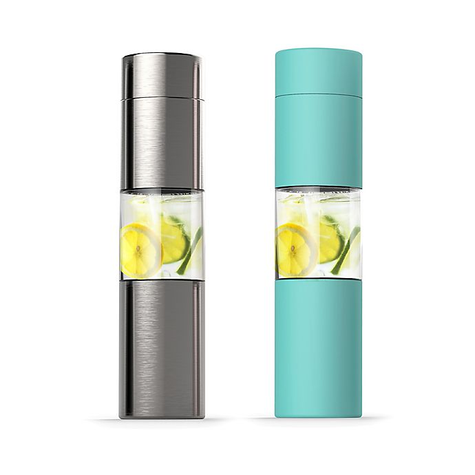 Alternate image 1 for ASOBU 16 oz. Insulated Infuser Water Bottle