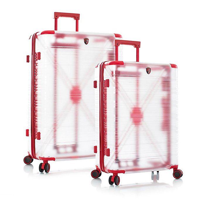 Alternate image 1 for Heys® X-Ray Hardside Spinner Checked Luggage