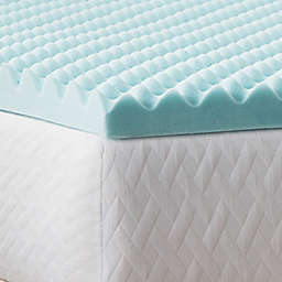 Dream Collection™ by LUCID® Convoluted 3-Inch Memory Foam Queen Mattress Topper