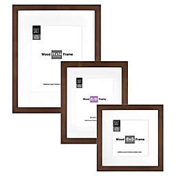 SALT™ Gallery Single Matted Wood Picture Frame