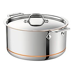 All-Clad Copper Core® 8 qt. Covered Stock Pot