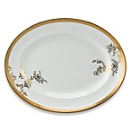 Vera Wang Wedgwood® Lace Gold 13.75-Inch Oval Platter
