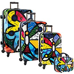 Heys® Britto Butterfly Hardside Spinner Luggage Collection
