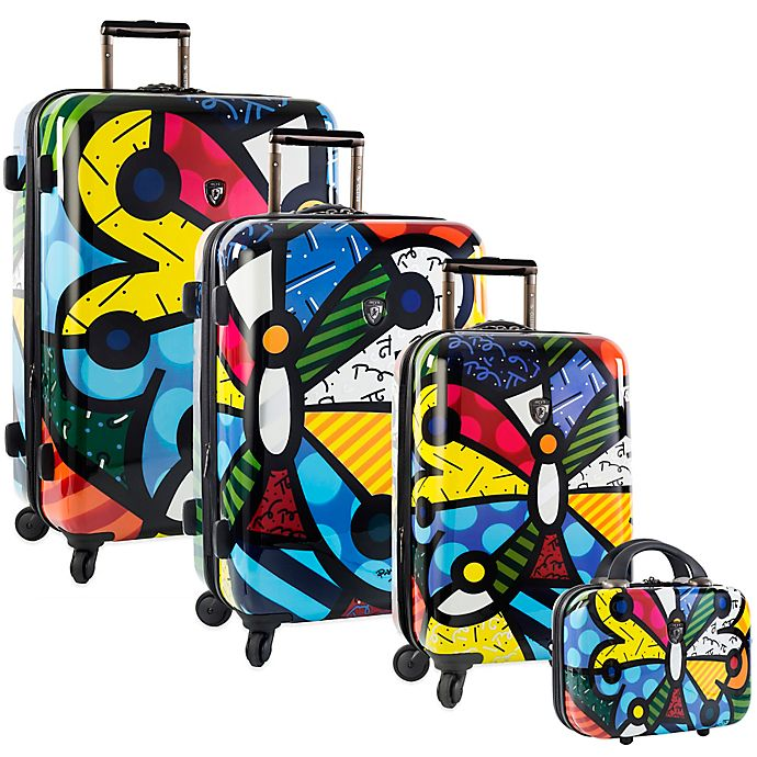 Alternate image 1 for Heys® Britto Butterfly Hardside Spinner Luggage Collection