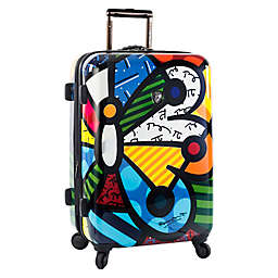 Heys® Britto Butterfly 26-Inch Hardside Spinner Checked Luggage
