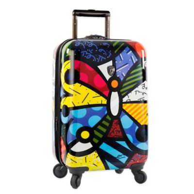 05201a004 Heys® Britto Butterfly 21-Inch Hardside Spinner Carry On Luggage | Bed Bath  & Beyond