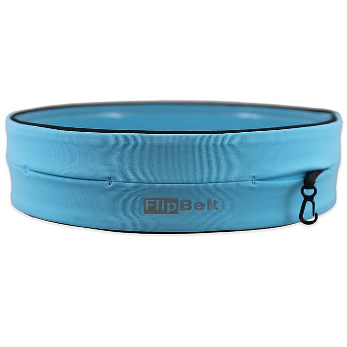 Alternate image 1 for FlipBelt™ Small Running and Workout Belt in Aqua