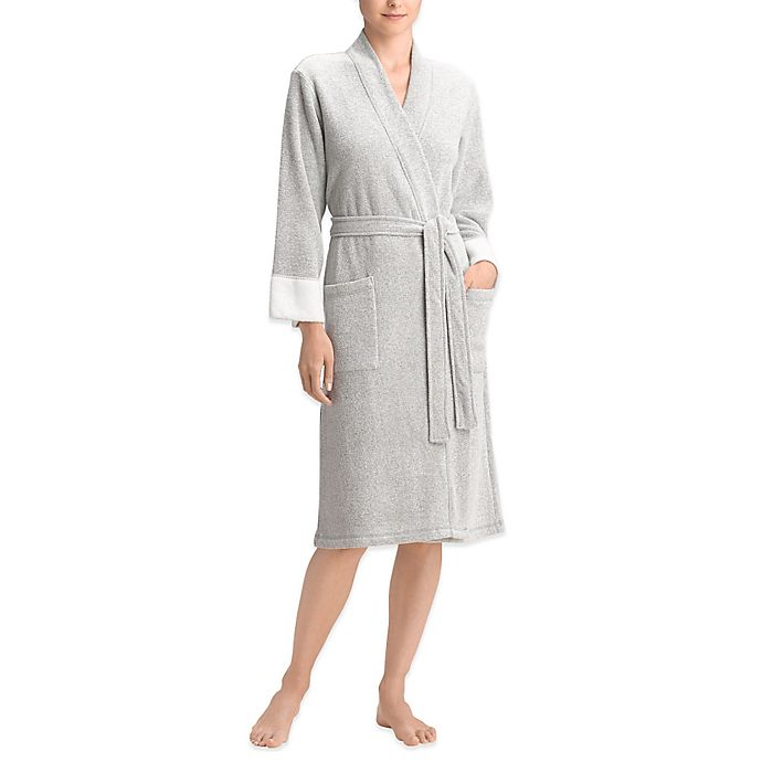 Alternate image 1 for Natori Nirvana Brushed Terry Wrap Bathrobe