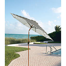 W Home™ 9-Foot Striped Cabana Umbrella