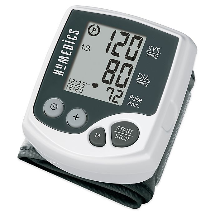Alternate image 1 for HoMedics® Automatic Wrist Blood Pressure Monitor with One-Touch Operation
