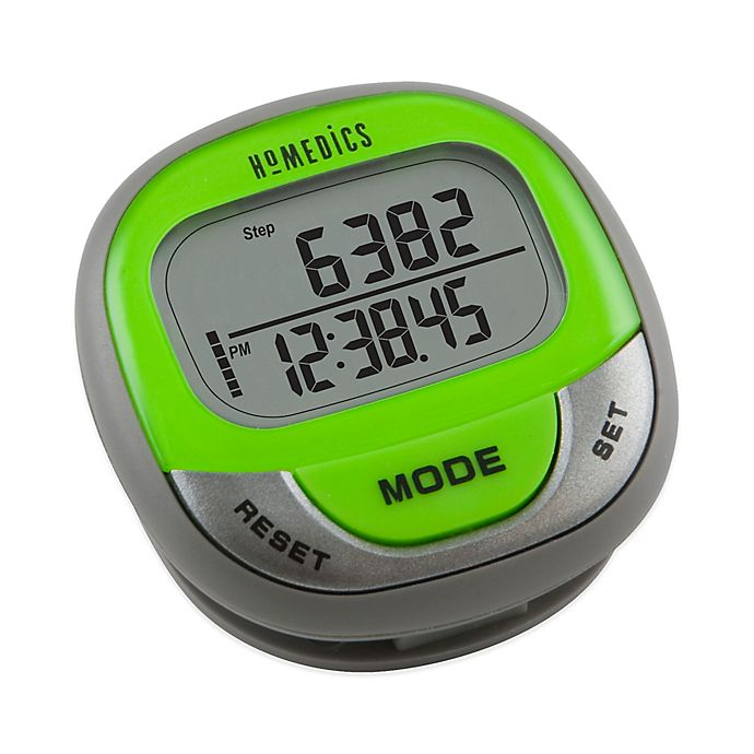 e73d95119dbef HoMedics® Hip and Pocket Pedometer