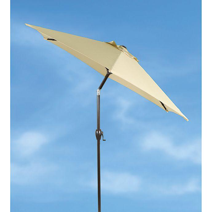Alternate image 1 for Destination Summer 7.5-Foot Round Aluminum Tilt Market Umbrella