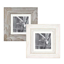 Bee & Willow™ Home 4-Inch x 4-Inch Beaded Wood Picture Frame