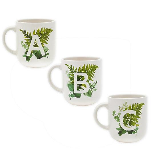 Alternate image 1 for Bee & Willow™ Botanical Monogram Coffee Mug